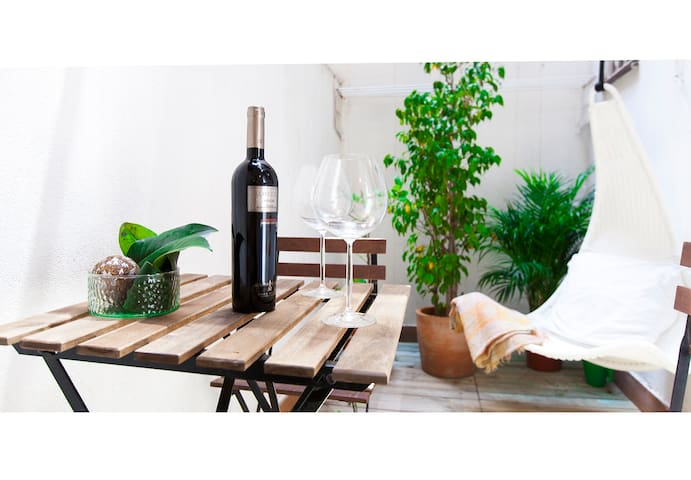 Cosy apartment ideal for couples - Barcelona - Daire