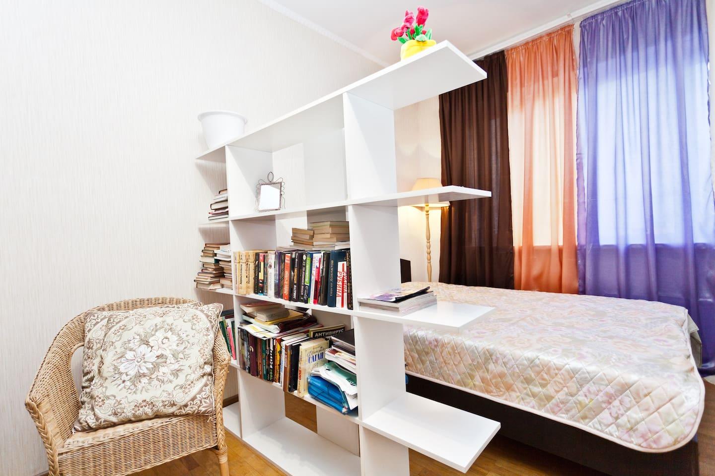 Cosy flat close to Bratislavskaya