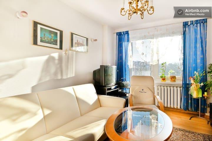pokój z łóżkiem 2 osobowym w domu - Poznań - Hus