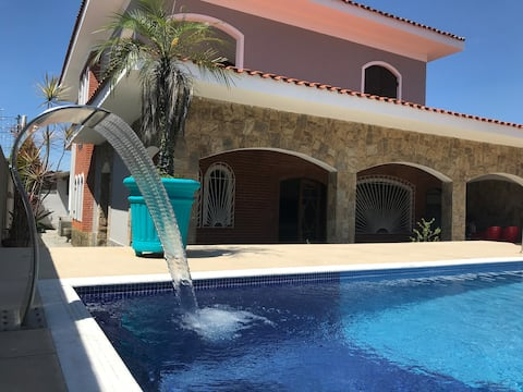 Large Sobrado with pool and barbecue grill ✨🙌🏼