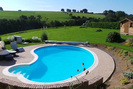 Perfect little flat with a pool! - Le Roux - Appartamento