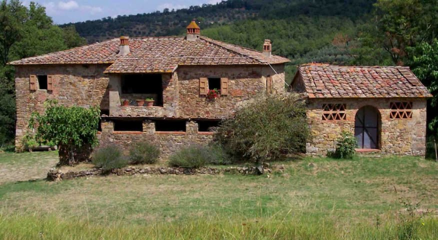 Tuscany House with Swimming pool - Pieve A Presciano - Maison