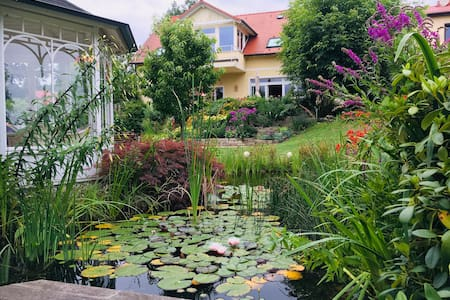 Beautiful landhouse in big garden, close to Berlin