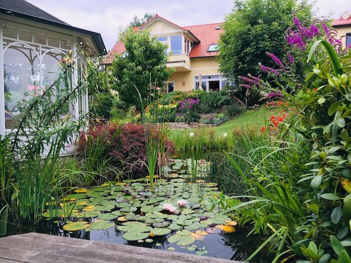 Beautiful landhouse in big garden, close to Berlin