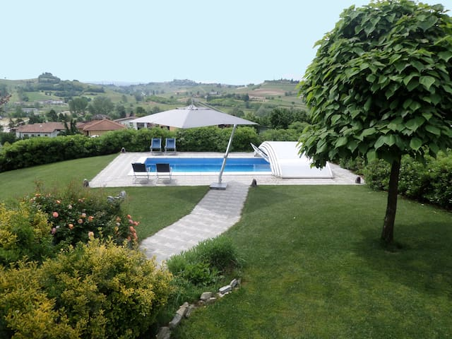 Villa, Private Pool, Garden, Unesco World Heritage - Montaldo Scarampi - Villa