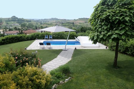 Villa, Pool, Unesco World Heritage - Montaldo Scarampi