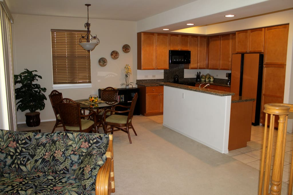 Fully equipped kitchen with everything you need to feel at home.