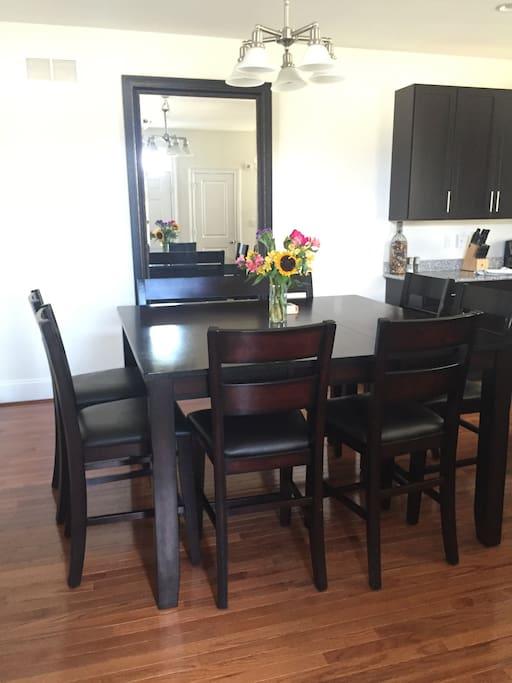 Kitchen table- seats 8