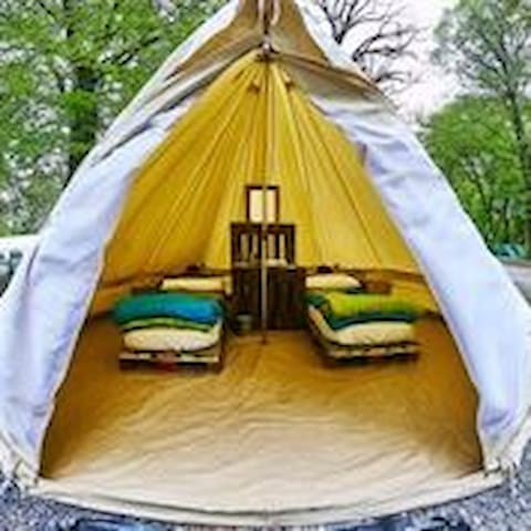 Running of the bulls - All inclusive Glamping