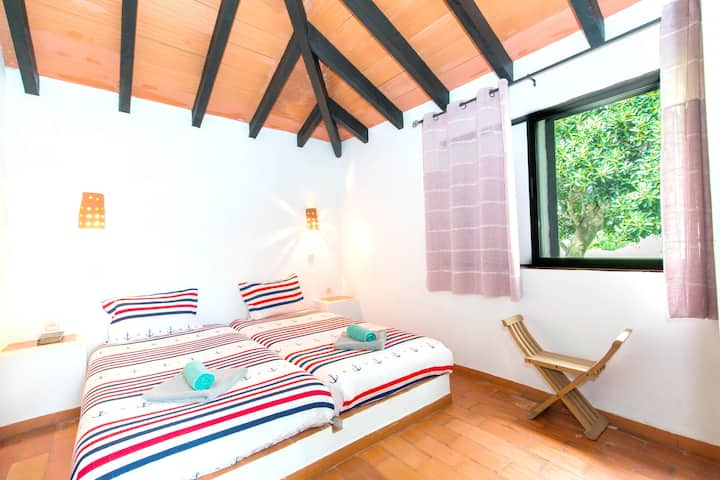 House with one bedroom in Pedras del Rei, with shared pool and furnished garden