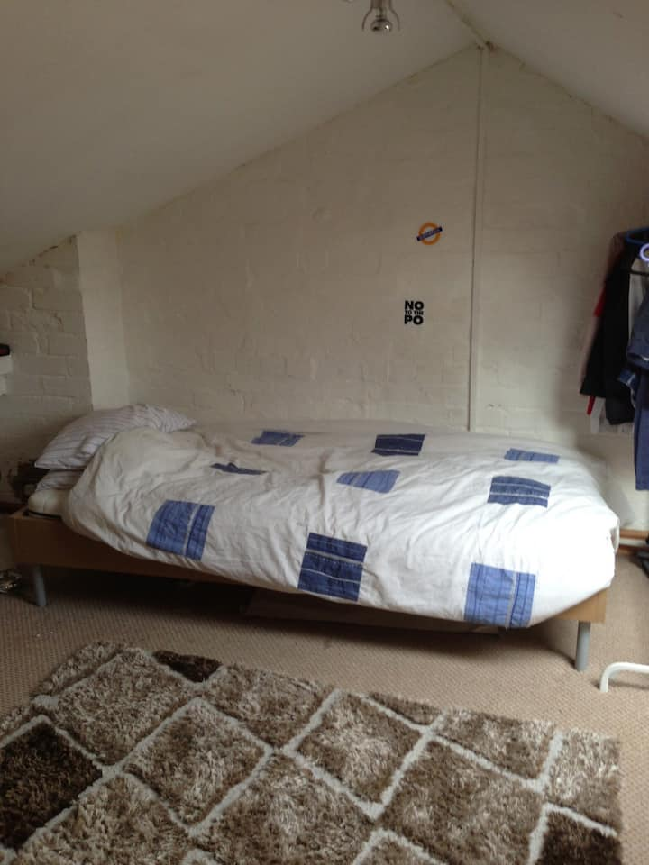 Double loft room