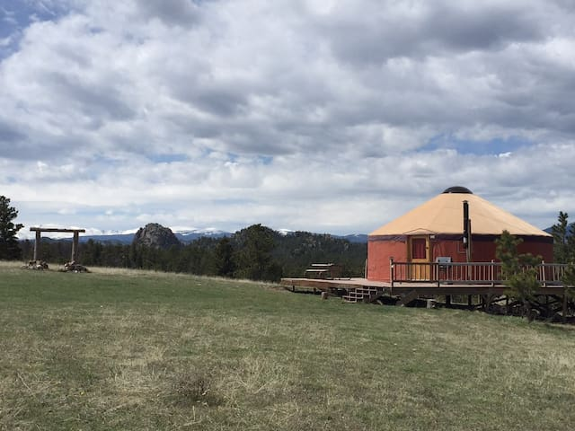 Amazing views at the Yurt! - Livermore - Yurt
