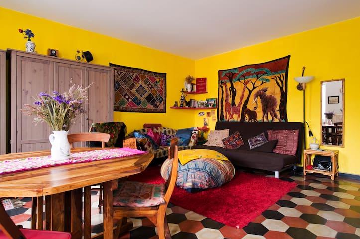 Bohemian 2level apt in Navigli area - Milán - Apartamento
