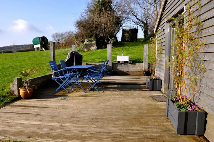 A luxury cabin with an amazing view - Bodmin