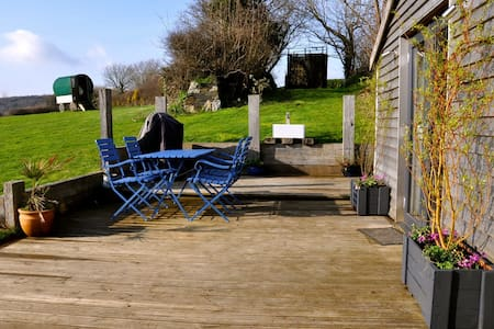 A luxury cabin with an amazing view - Bodmin - Hytte