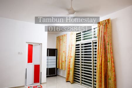 HomeStay.Semi-D Batu Kawan Penang - Apartemen