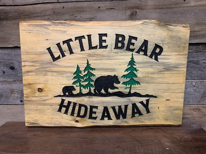 Rustic Little Bear Hideaway in Cloudcroft 1,200 sq