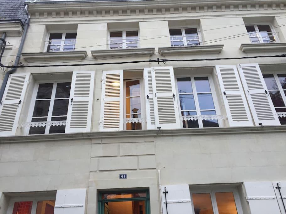 Chambre d 39 h te de caract re maisons louer - Chambre hote chatellerault ...