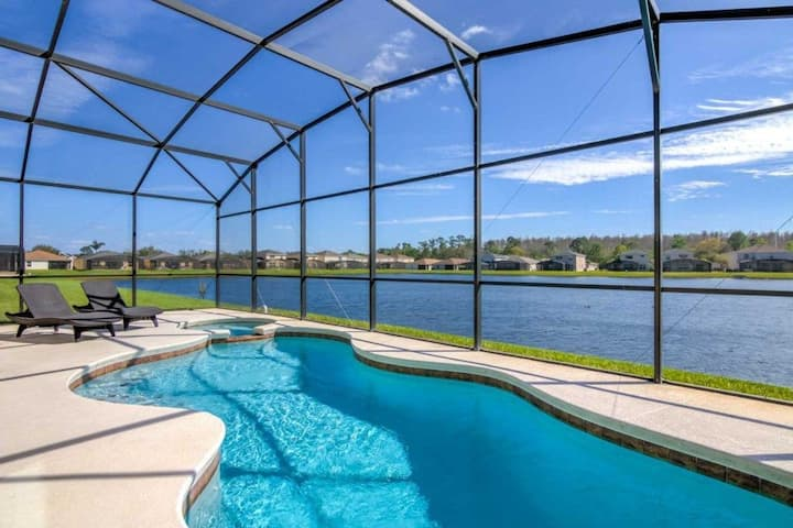 Crystal Cove Beauty -5 BR, Private Pool, lake view