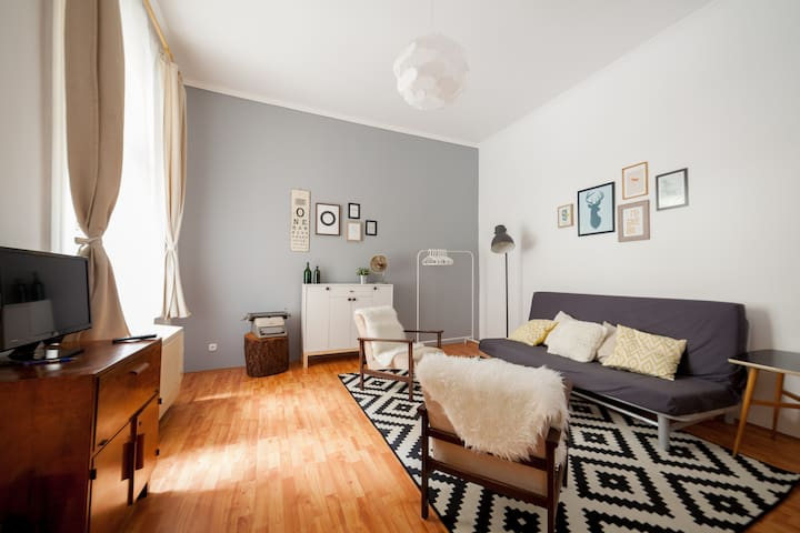 Industrial Downtown Apartment - Budapeşte - Daire