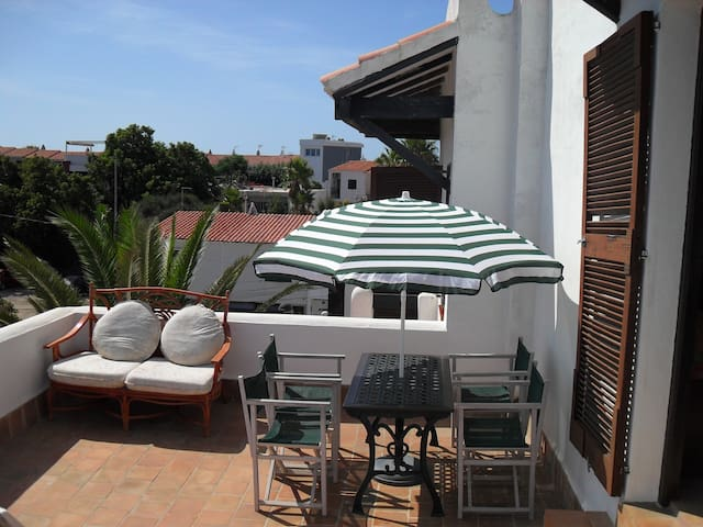 Self-contained Roof Top Apartment - Son Vilar near Es Castell - Apartamento