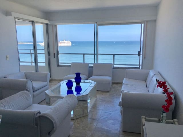 the best sunset and sea view. minimalist apartment - Punta del Este - Apartamento