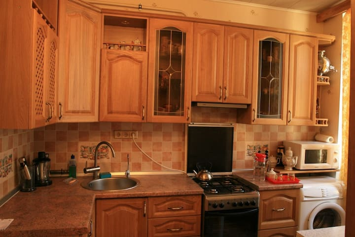 Well maintained apartment in the city center