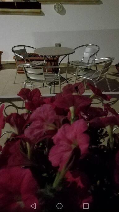 serata in terrazzo