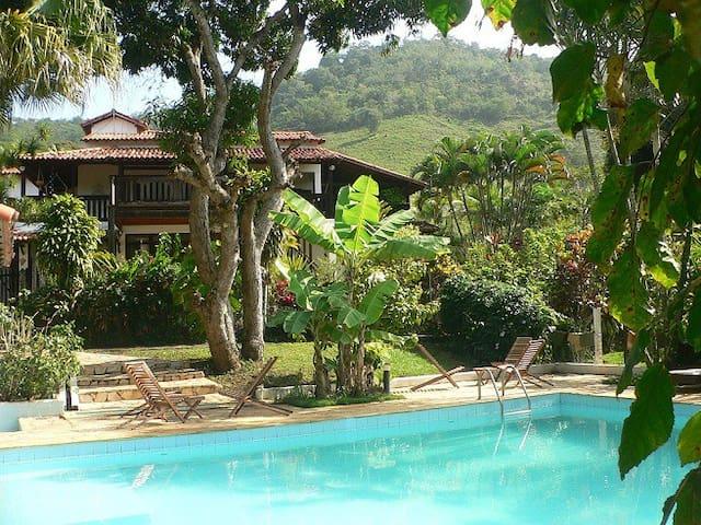 Cozy Farm Hotel in Saquarema  - 1double room
