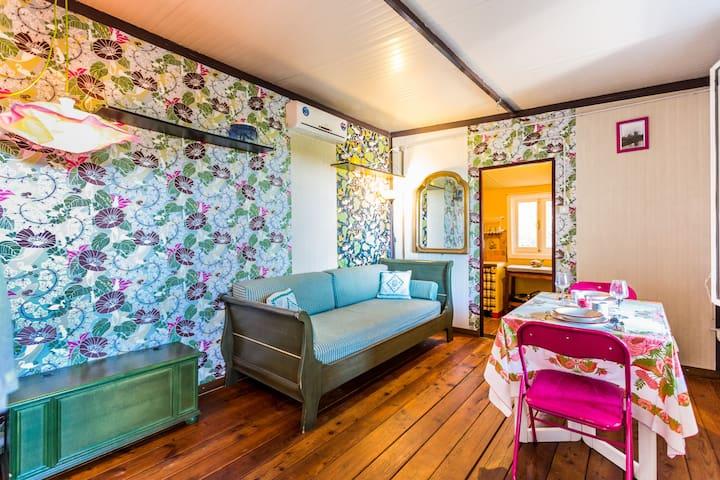 Tiny cosy house, green and sea - 帕勞