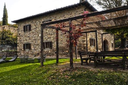 Farmhouse with private pool - Bibbiena