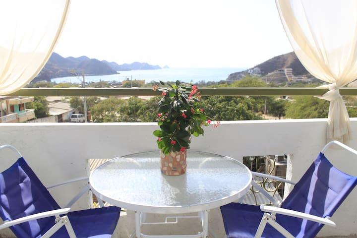 oceanview room, casa mandala taganga - Santa Marta, taganga - Bed & Breakfast