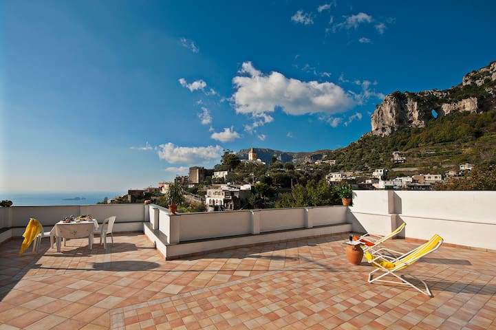 you will enjoy a thrilling sea view - Montepertuso - Apartamento