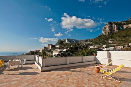 you will enjoy a thrilling sea view - Montepertuso - Apartment