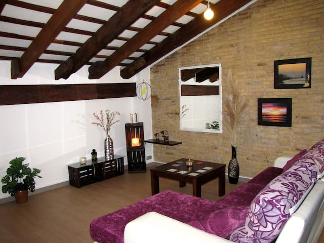 Great Attic Loft in City Center - València - Loft