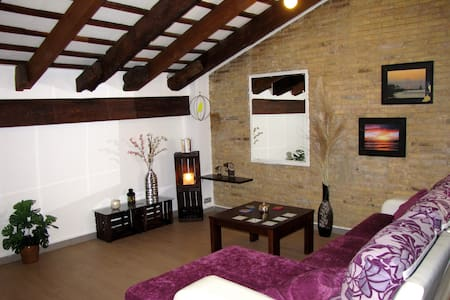 Great Attic Loft in City Center - València