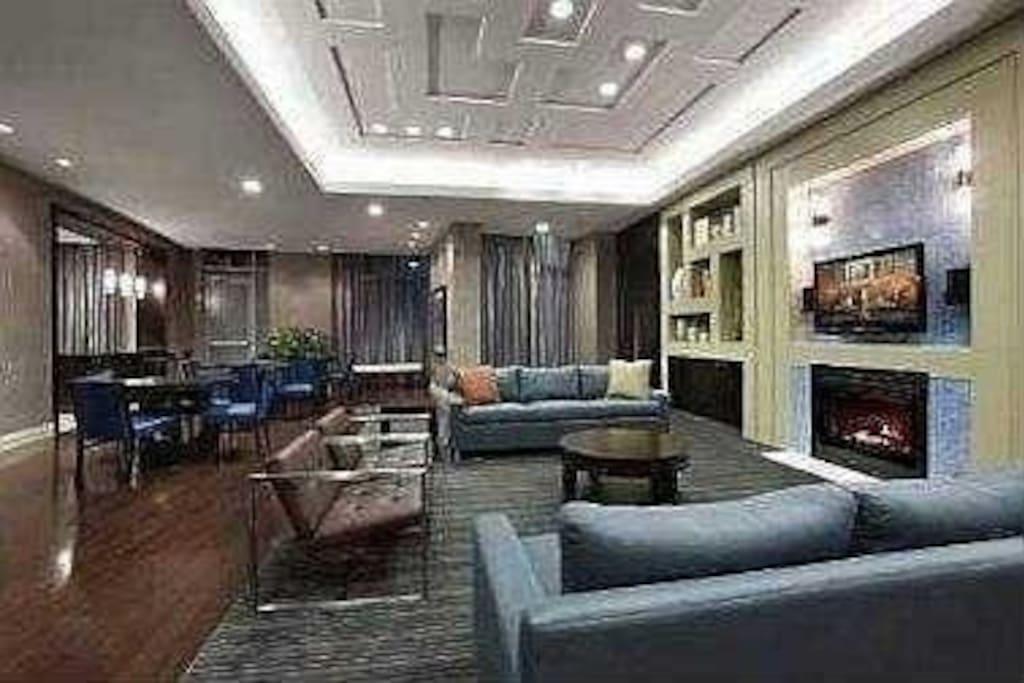 Party room - ground floor