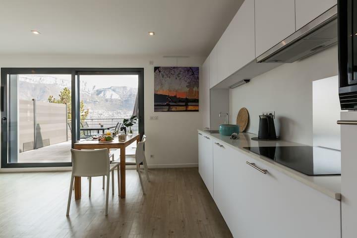 Magnifique appartement avec une vue unique !