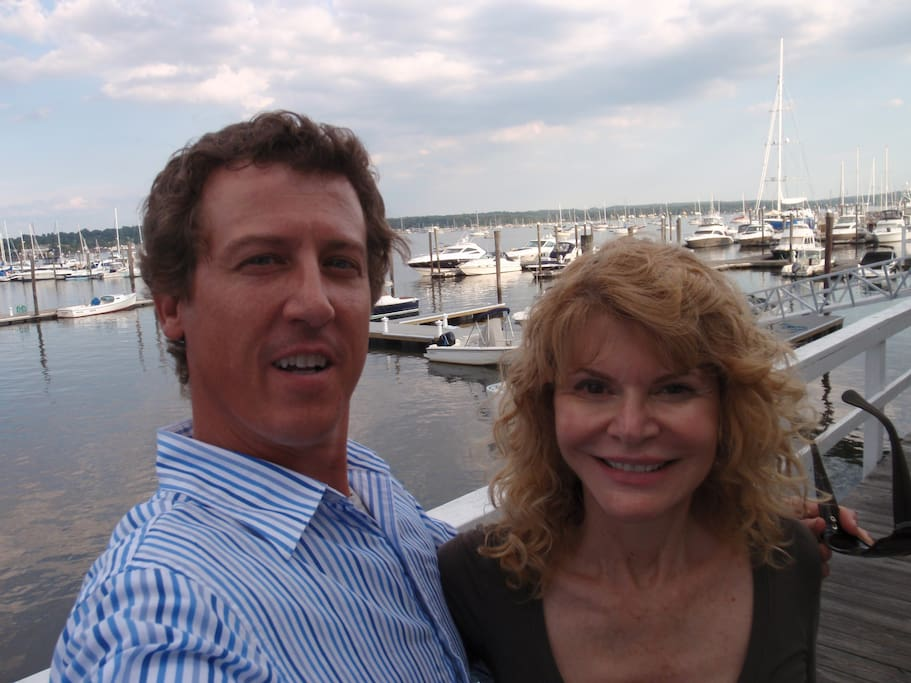 Allen and Ann returning to the Capri Marina on Long Island