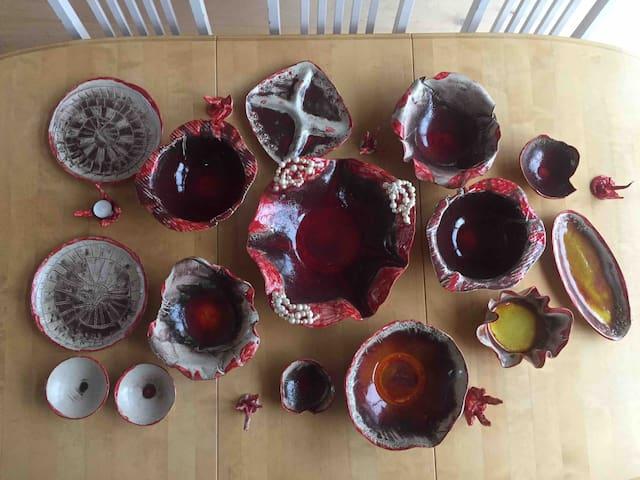 Hand made ceramics