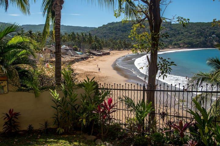Casa Alegria: 4 people, Great view, Beach, Open! - Nayarit - Hus