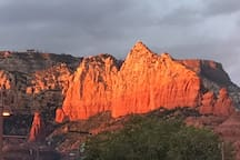 Sedona is beautiful in any weather!