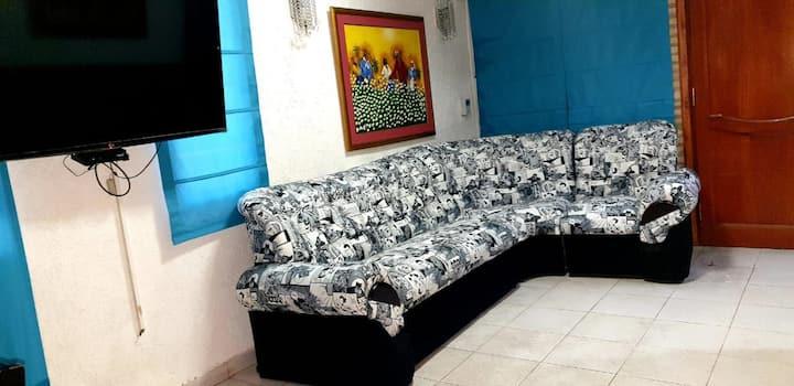 SOCRA Felix Bogado. 3 dormitorios, 6 personas.