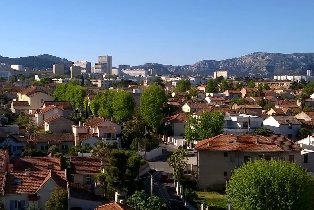 la vue depuis le balcon / view from your room calanques national park