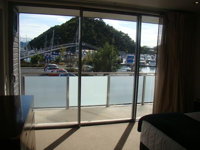 Moorings  Luxury Waterfront apartment