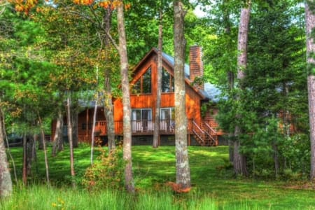 Cabin Rental-Hayward WI-Lakes-Snowmobiling Trails - Hayward