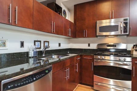 Loft with Roof Garden in Columbia Heights - Washington - Apartment