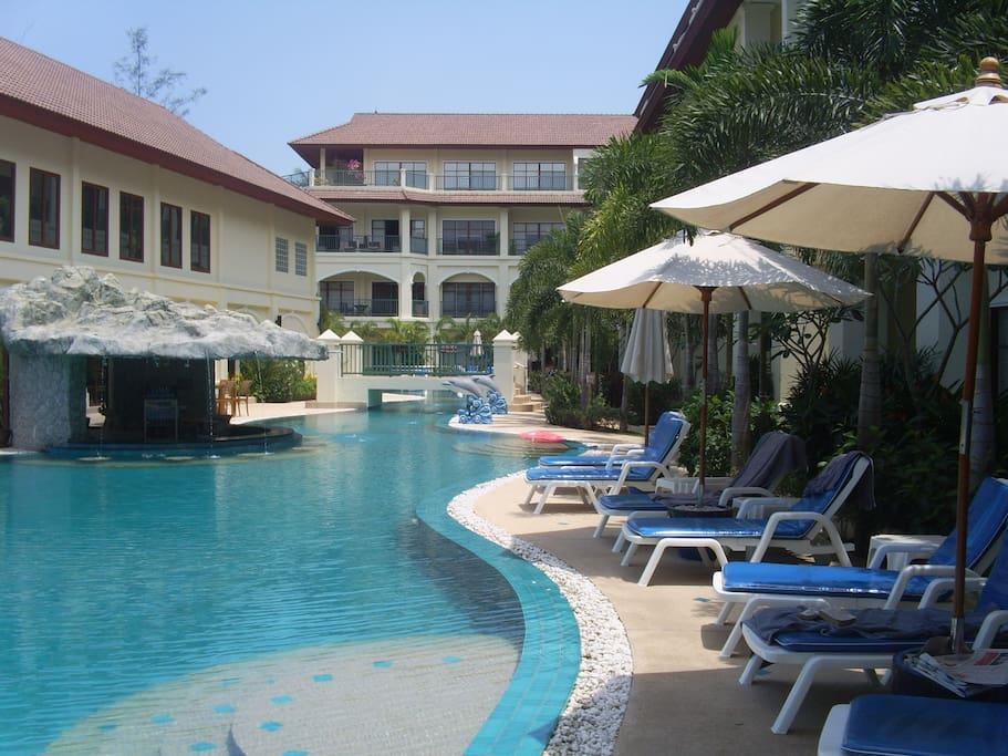 Shows length of huge pool