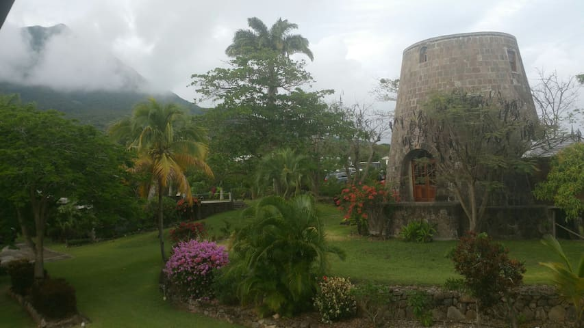 Historical Mill  MorningStar Estate - Nevis, St. Johns Parish, West Indies - House