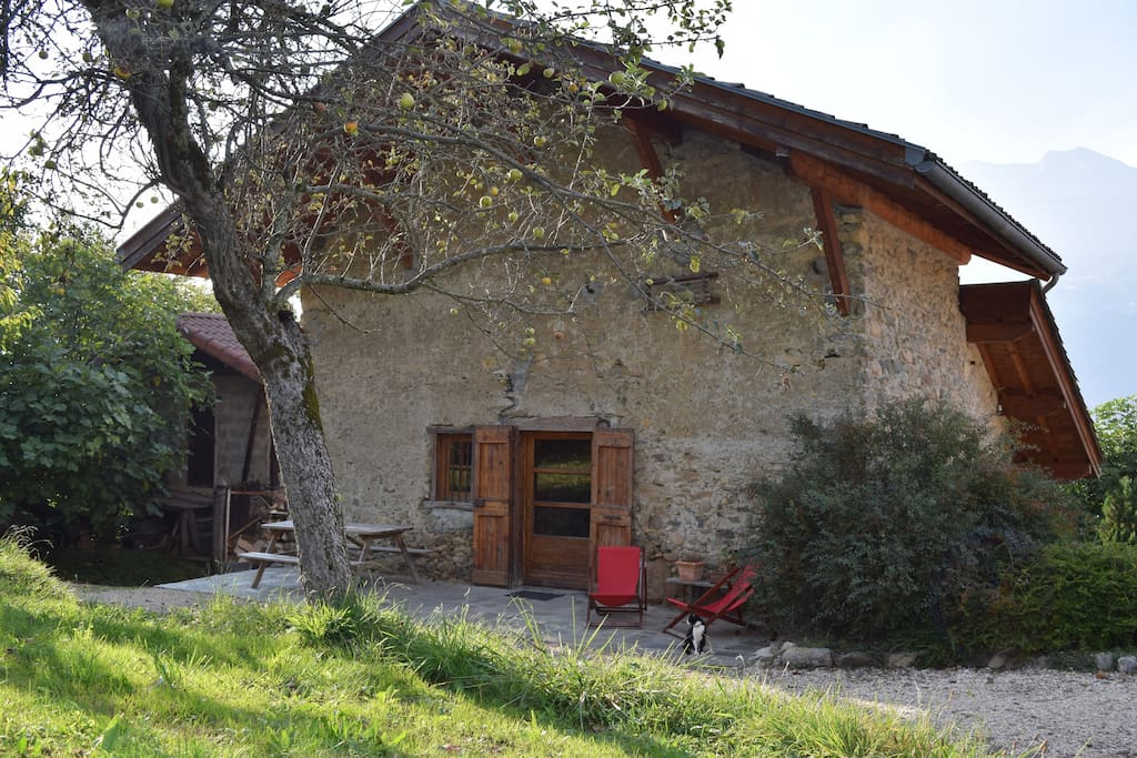 Maison d'autrefois construite en 1803
